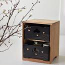 古道具部 蒔絵煙草盆「波に千鳥」2個set木箱入り