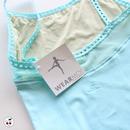 訳ありセール![Wear Moi] FLORA キャミソールレオタード(定価7,020円から10%オフ)