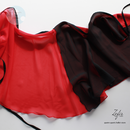 [Zefir Ballet] Ballet Skirt Composition with red(S丈)