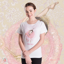 Ballet Papier Fit Style T-shirt 'Sugar Plum Fairy'
