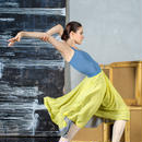 [Zefir Ballet] 2-sided rehearsal skirt(3種)