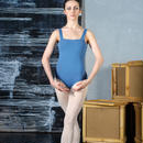 [Zefir Ballet] Square Leotard (gray)