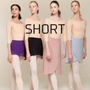 [Zi dancewear] Wrap skirt ・S丈:4型(予約商品)