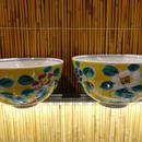 夫婦飯碗(花紋小)