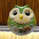 丸フクロウ(緑)