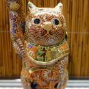 5G招き猫(赤盛右手)