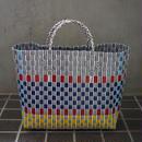 ベトナムのプラスチックかごバッグ(M)