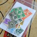 NOUVELLE CALEDONIEのビンテージ切手セットA