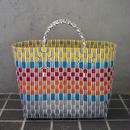 ベトナムのプラスチックかごバッグ(S-M)