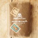 ネコリパブックカバー文庫本(nero)