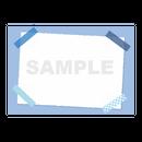 【POPテンプレート】マスキングテープ(水色・ブルー)