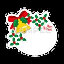 【POP素材】クリスマスベルイラスト