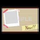 【POPテンプレート】マスキングテープ(New!!)