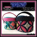 Cathedral window-Precious Basketカテドラルウィンドウ・ローズバスケット
