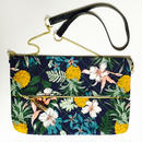 Tropical pineapple Chain  Quilting Clutch