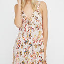Retro Flower Long Dress