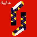 【SALE】Happy Socks〈ハッピーソックス〉/ 靴下 アーガイル【ar12003】
