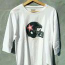 マジックナンバー【MAGIC NUMBER】アメフトヘルメット 7分丈Tシャツ カラー:ホワイト