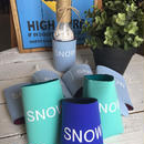 Smilestoreオリジナル クージー SNOW スノー color : アイスブルー・エメラルド・ロイヤル