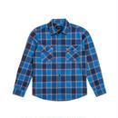 ブリクストン【BRIXTON】BOWERY L/S FLANNEL  Color:BLUE/NAVY