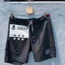 【13NASTY】BEACH SHORT PANTS  color:Black