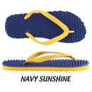 【SOULS】Original Massage Thongs  color:navy sunshine