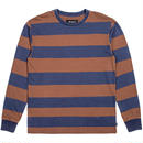 ブリクストン【BRIXTON】Brixton Laughlin  long sleeve knit  Color:Navy/Brown