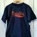 【BRIXTON】GOMEZ S/S STND TEE   color:Navy