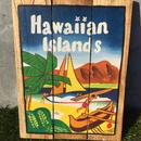ハワイアン雑貨 ウッドピクチャー Hawaiian Islands