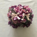 Wedding RingPillow -PURPLE-