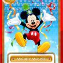 ▼00 トレカ ミッキーマウス 非売品
