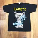 RARETE (ラルテ)  CAT イナズマ 猫  ブラック Tシャツ 星柄 star