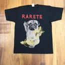 RARETE (ラルテ)  入手困難  DOG イナズマ 犬 Pag パグ ファック Tシャツ 星柄 star