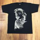 RARETE (ラルテ)   マリリン モンロー  反転 タトゥー   Tシャツ  ブラック  星柄