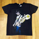 RARETE (ラルテ)  ロック ギター ドクロ サングラス  タトゥー Tシャツ スミクロ  星柄 star