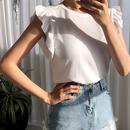 ショルダーフリルTシャツ