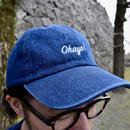 DANA SPORTS ''OHAYO!''DENIM BASEBALL CAP