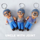 Joint Uncle Felt Key holder