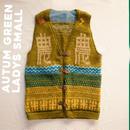農Knit Best 手編み AUTUM GREEN /Ladys Small