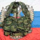 ロシア連邦軍 官給品 6sh92-5 ベスト バックパック 6sh92-5S用 フローラ迷彩  #1