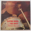 Clifford Brown And Max Roach ‎– At Basin Street(EmArcy ‎– MG 36070)mono