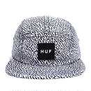 HUF 5PANEL CAP (MENPHIS BOX LOGO) WHITE