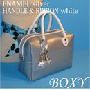 BOXY silver ENAMEL