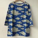 marbleSUD(マーブルシュッド)HITSUJI BOX TEE BLUE 【送料無料】 025S002003