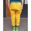 marbleSUD(マーブルシュッド) STAR OWLツイルEASYサルエル yellow 【送料無料】  074S006179