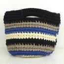 marbleSUD(マーブルシュッド) CUT CLOTHES Crochet  BAG BLACK  087M030127