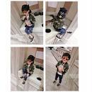 【Kids 】カモフラMA-1 jacket