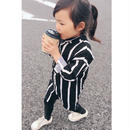 【 kids】stripe shirt