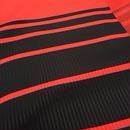 朱音屋オリジナル帯揚 barrystripe  黒×赤