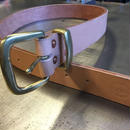 REW10 LEATHERS RIVETED BELT  40mm